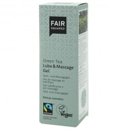 Fair Squared Vegansk Grøn Te Lube og Massage Gel 150 ml Sinful