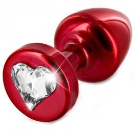 Diogol Anni Heart T1 Cristal Butt Plug 25 mm Sinful