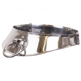 Kiotos Gladiator Låsbar Metal Halsbånd med O-ring Sinful