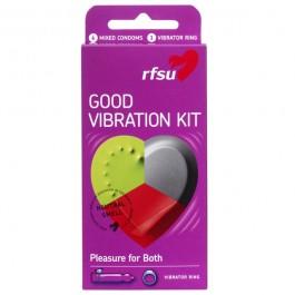 RFSU Good Vibration Kondomer 6 stk Sinful