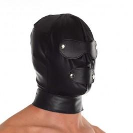 Rimba Justerbar Læder Maske Sinful