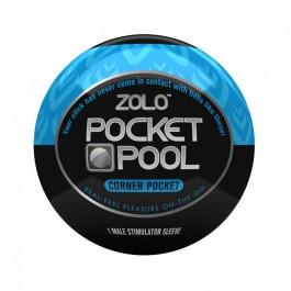 Zolo Pocket Pool Corner Pocket Onani Håndjob Sinful